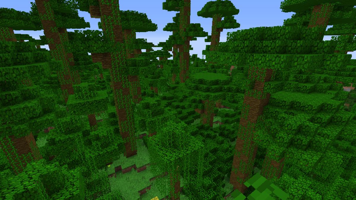 Minecraft Jungle Seeds 1.12