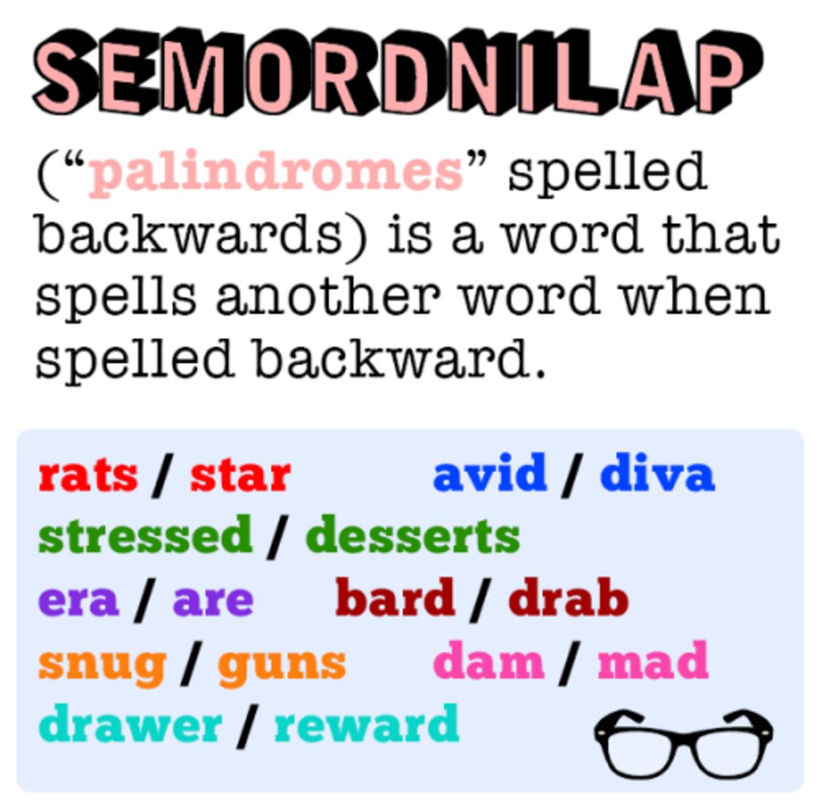 LIVE - EVIL: an Ambigram and Semordnilap? | hubpages