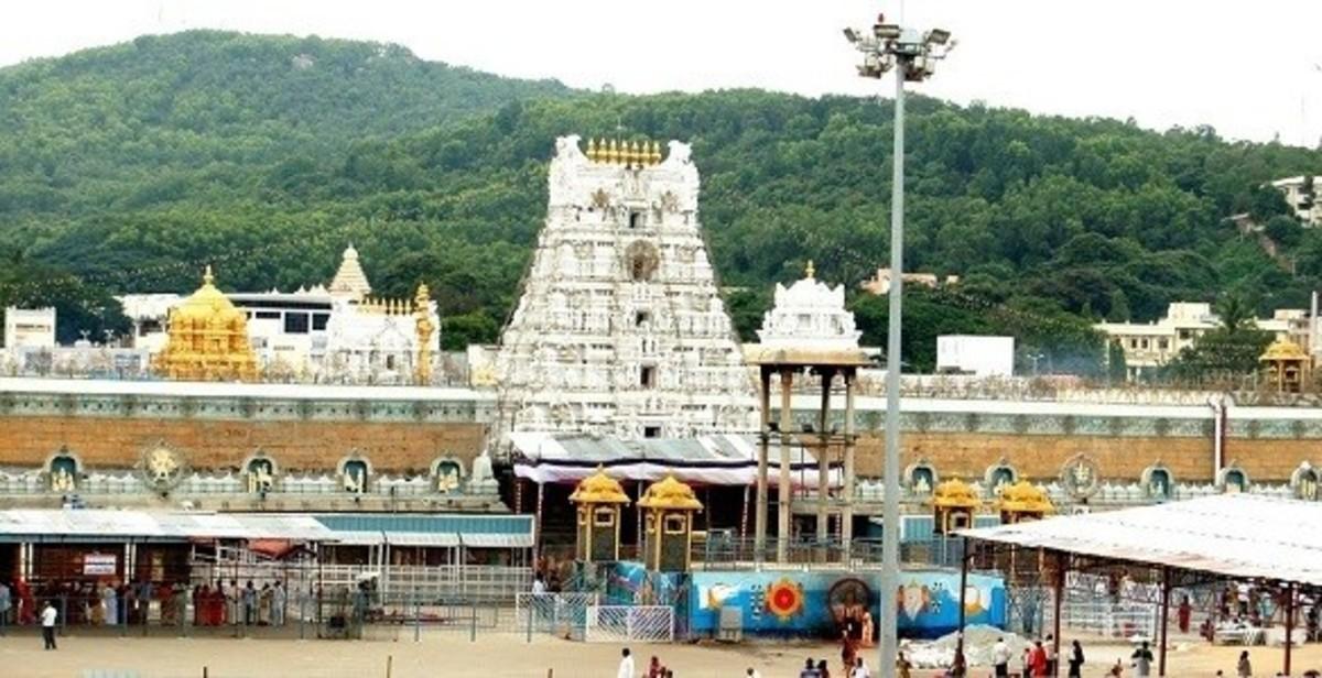 Venkateswara Tirupati balaji Temple, Tirumala, Andhra Pradesh