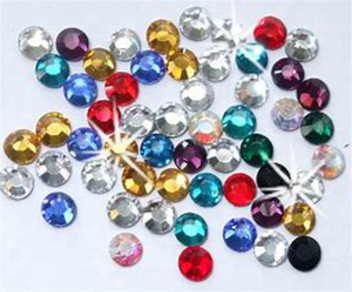 Rhinestones add a lot of bling to your paper craft projects