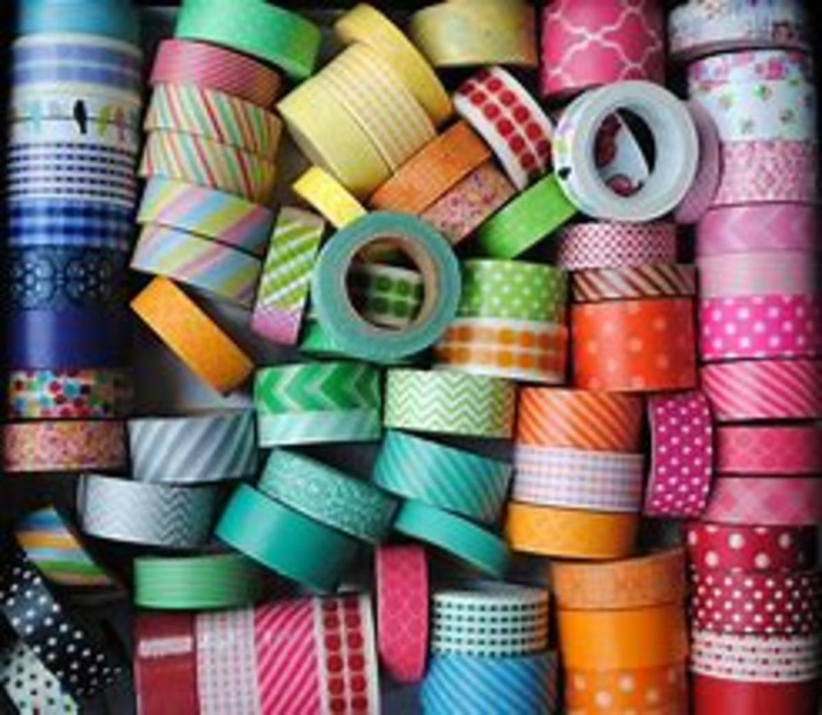 There are so many ways to use this lovely decorative tape
