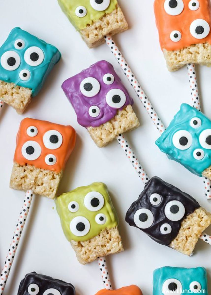 Eyeball Treat Recipes and Ideas For Halloween