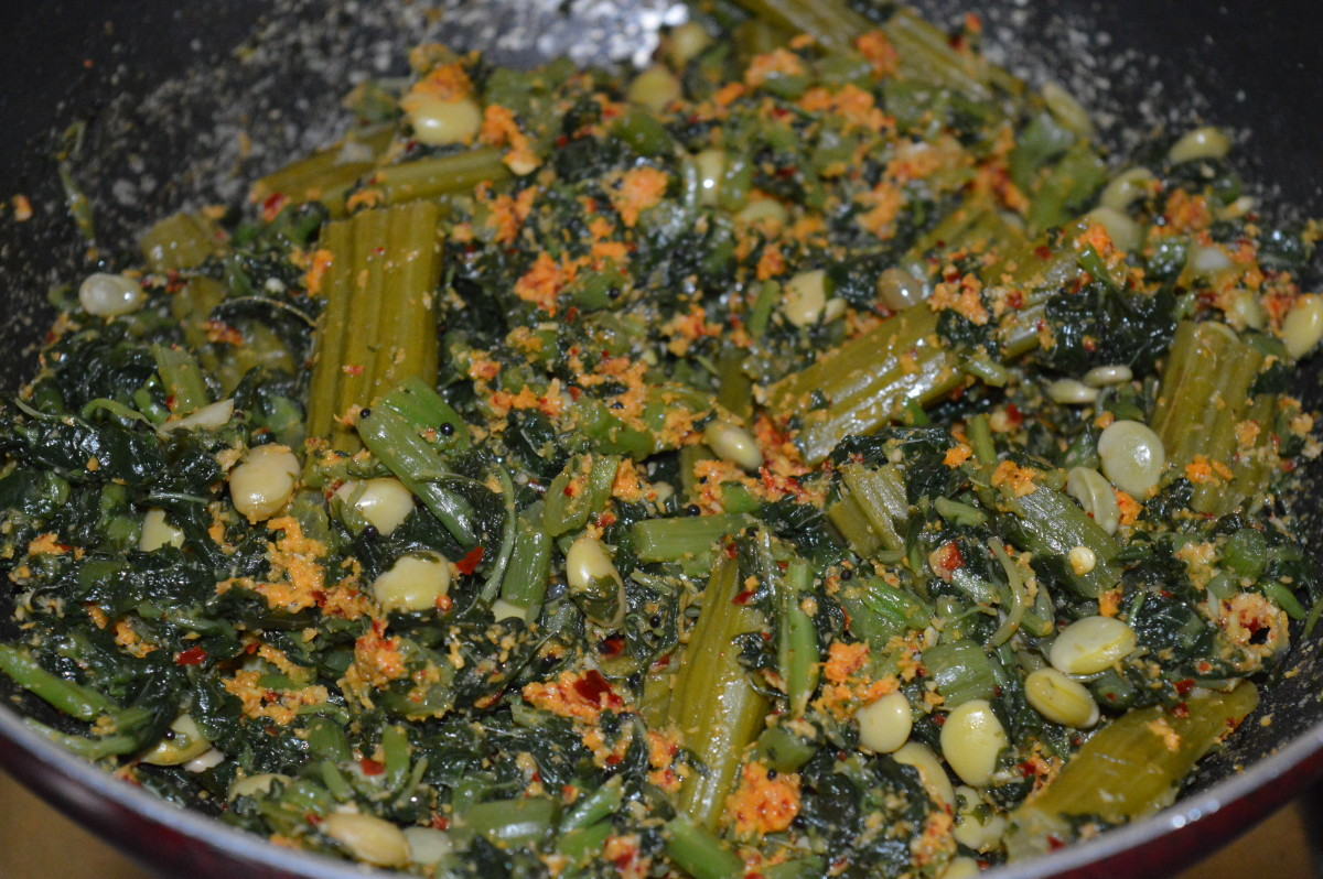 amaranth-leaves-hyacinth-beans-and-drum-stick-diabetic-curry