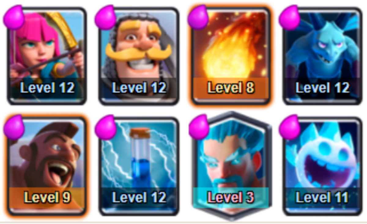 Now this deck can be used for the rest of your career unless an update comes out which nerfs a lot of these cards!