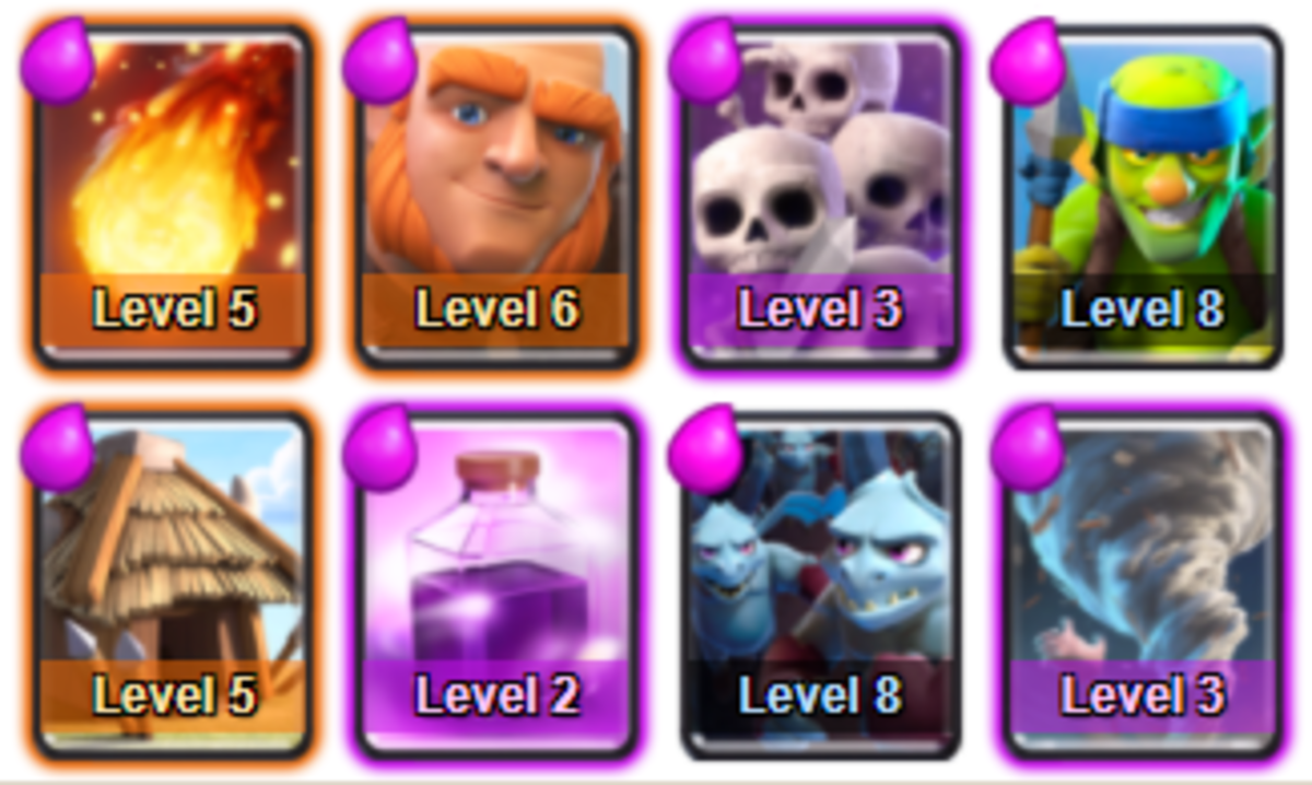Long gone are the days when Royal Arena was the top spot - this deck goes back to basics and can defeat nearly all other decks at this level.