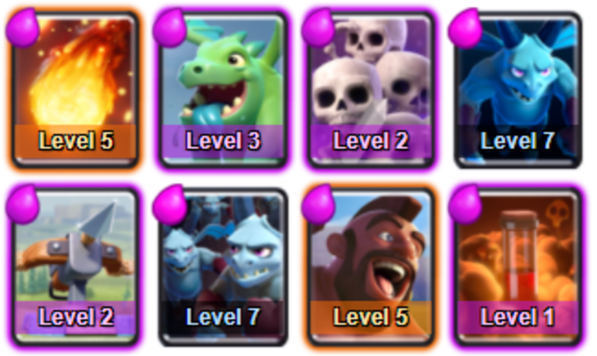 Clash Royale Deck Guide The Best Clash Royal Decks For Every Arena Fast Cycle Slow Build Fun Decks Mirror Swap Hubpages