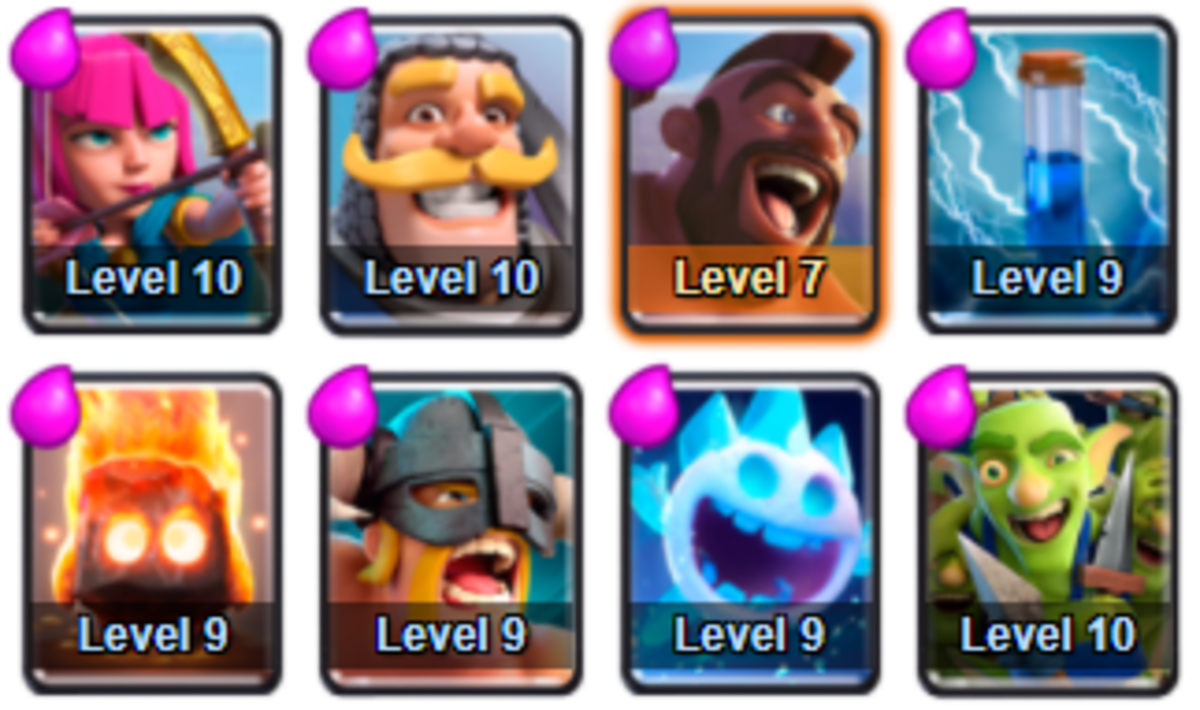 This is a standard deck for the Jungle Arena and upwards. Using hog cycle decks is more than common and you'll come up against a lot of similar decks.