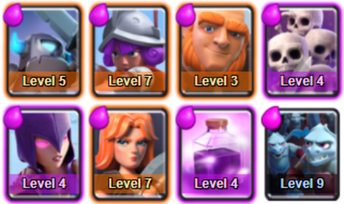 This is the best Clash Royale deck to get through PEKKA's Playhouse - Arena 4!