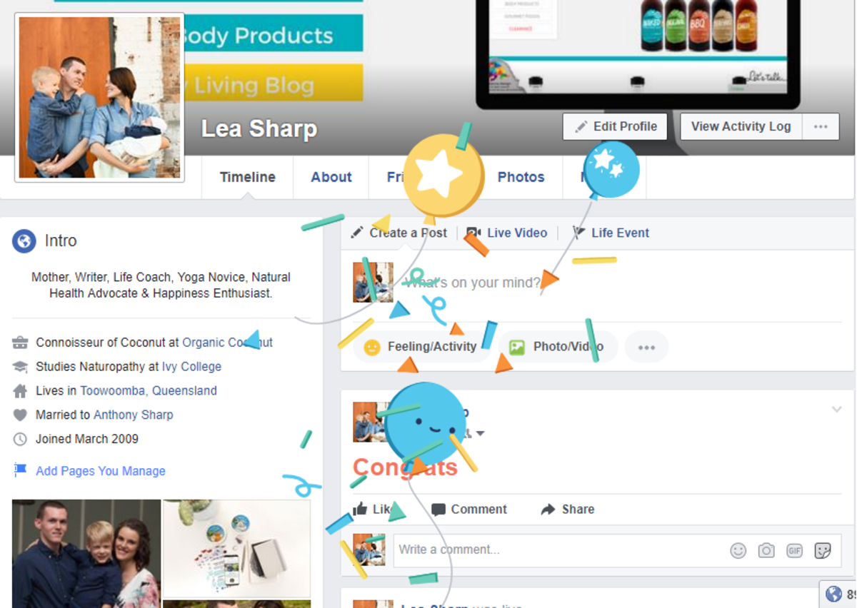 New Facebook Comment Animations: Congrats, XOXO and More