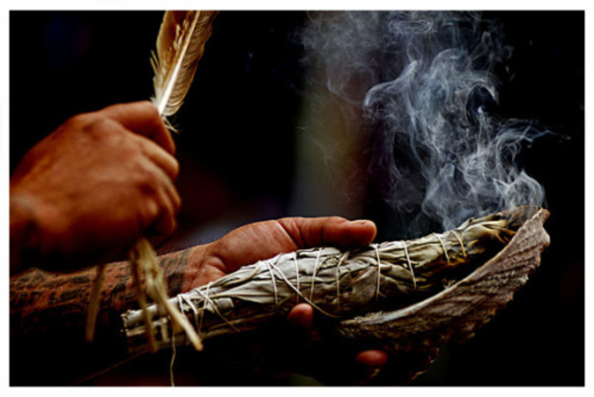 Smudging with sage by Native Americans calls on the spirits of sacred plants to drive away negative energies and restore balance. It has been a part of Native American tradition for thousands of years.