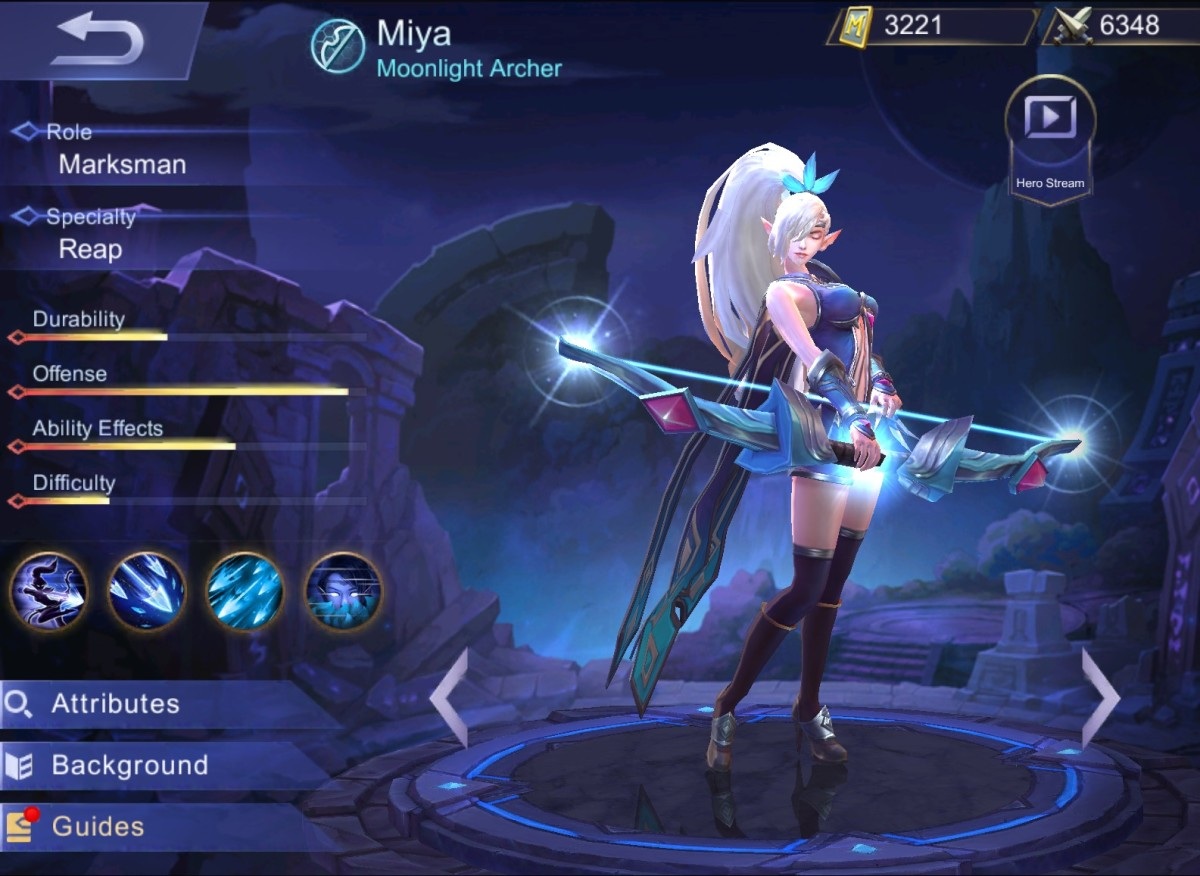 Mobile Legends: Miya Build Guide