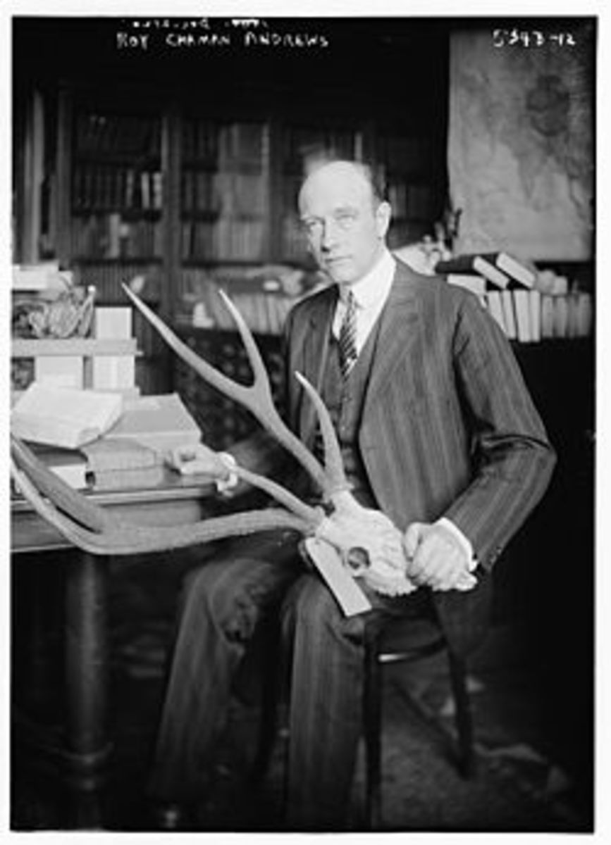 Roy Chapman Andrews at American Museum of Natural History