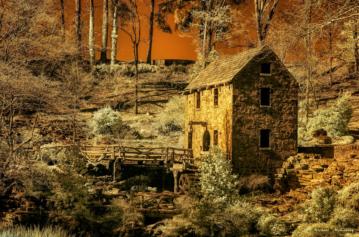 The 'Old Mill' in Arkansas Is the Only Building Left From 'Gone With the Wind'