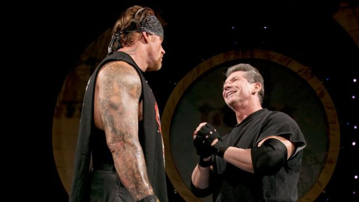 The Undertaker vs. Vince McMahon
