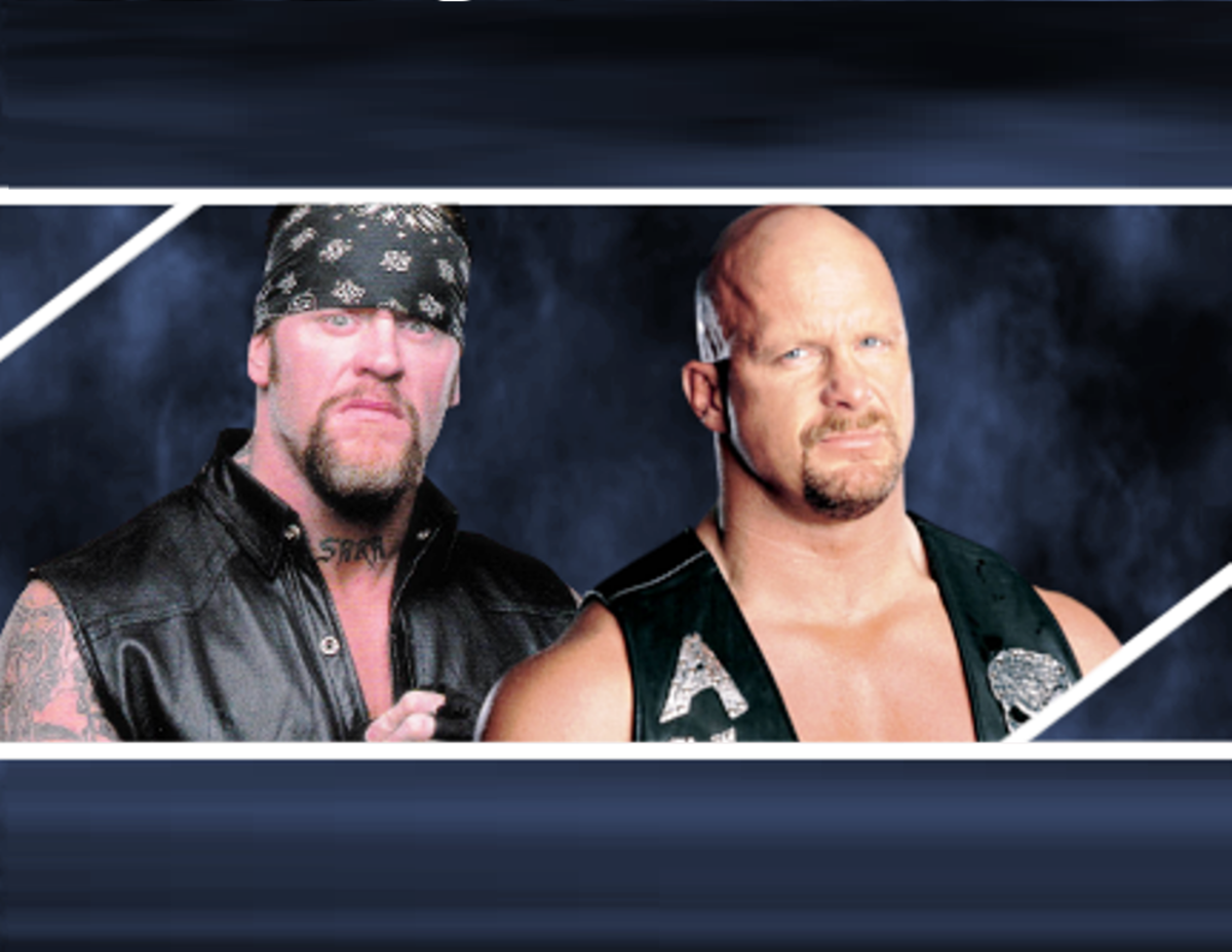 The Undertaker vs. Stone Cold Steve Austin