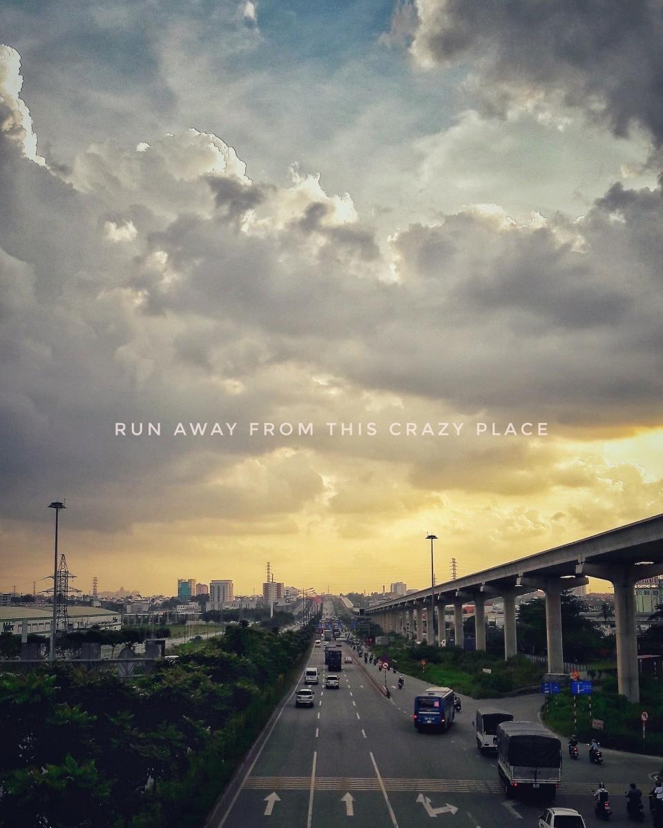 Just run away