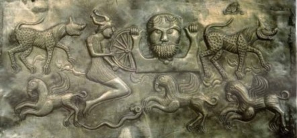 The Dagda (on the Gunderstrup Cauldron)