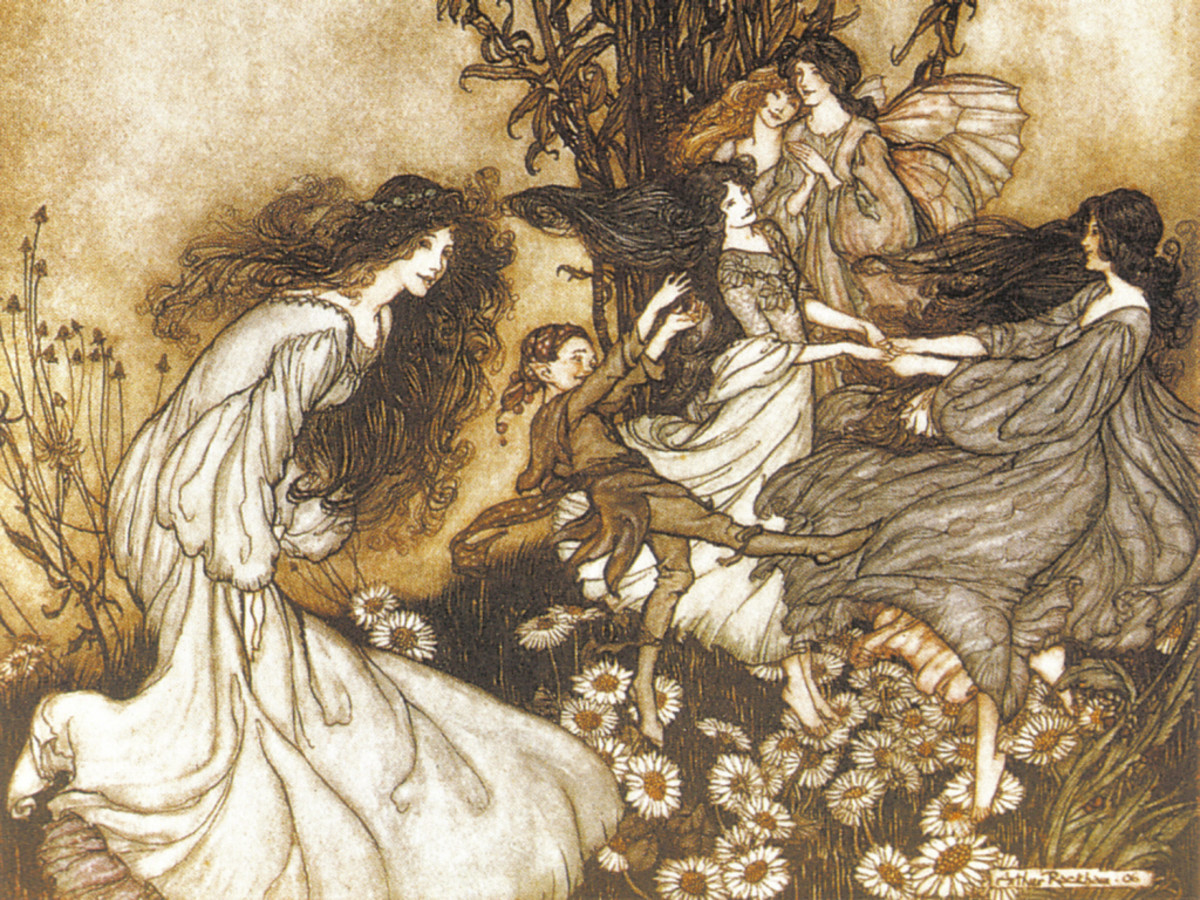 Dancing Fairies (Arthur Rackham)