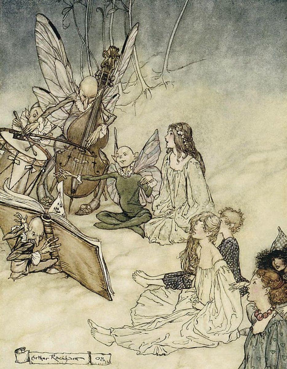 Fairy Music (Arthur Rackham)