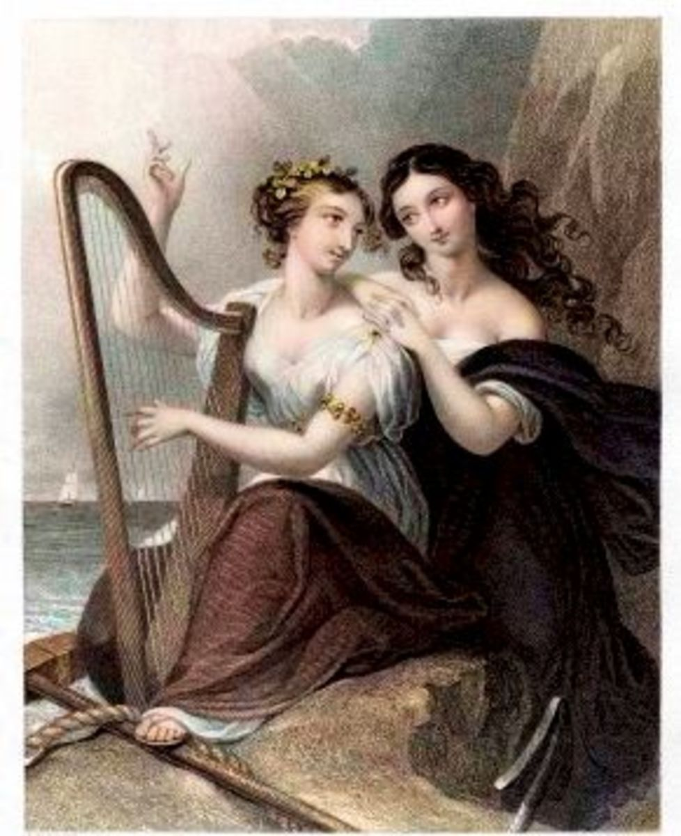 The Harp of Erin (1855 engraving)