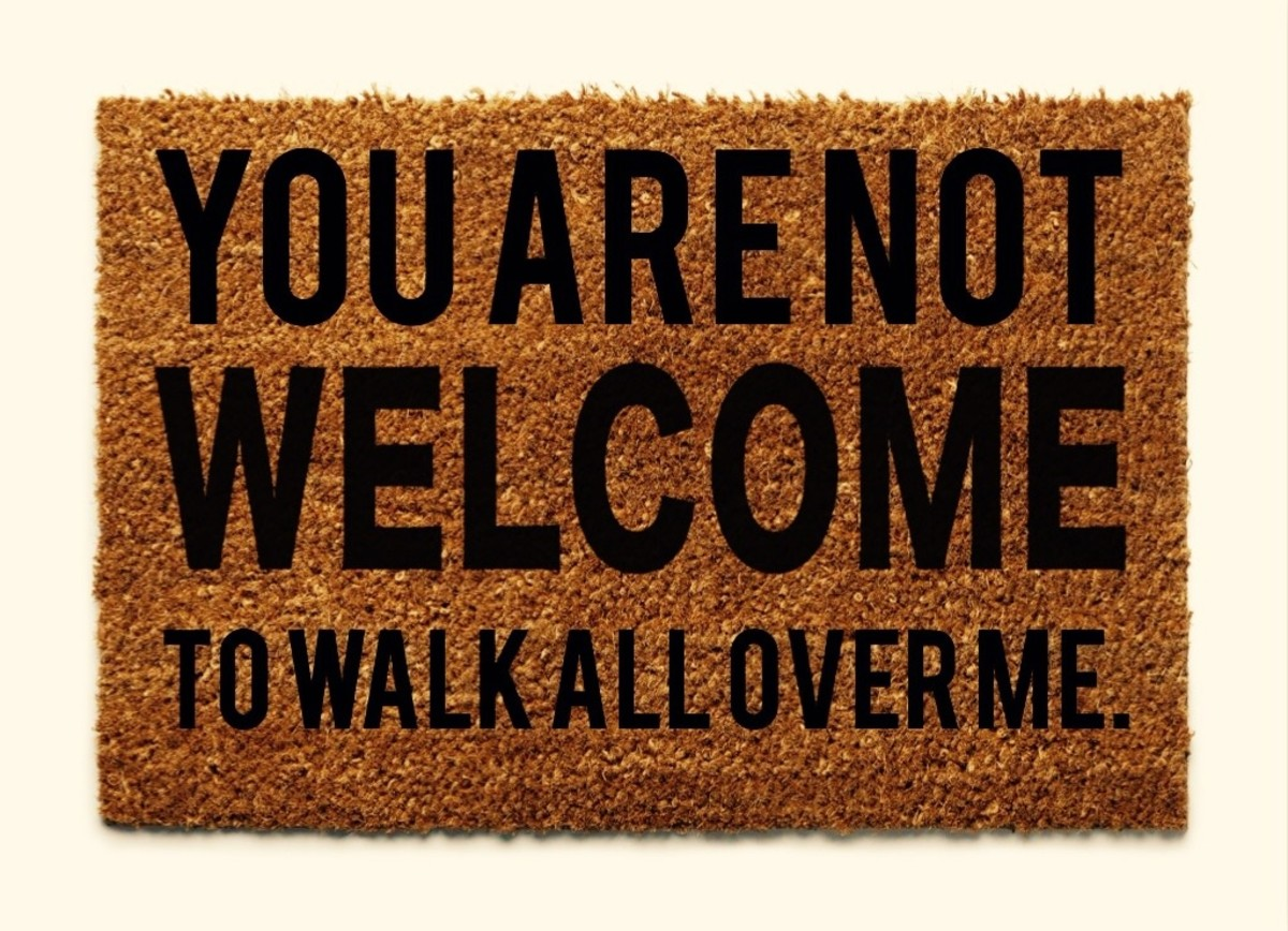 How to Not Be a Doormat!