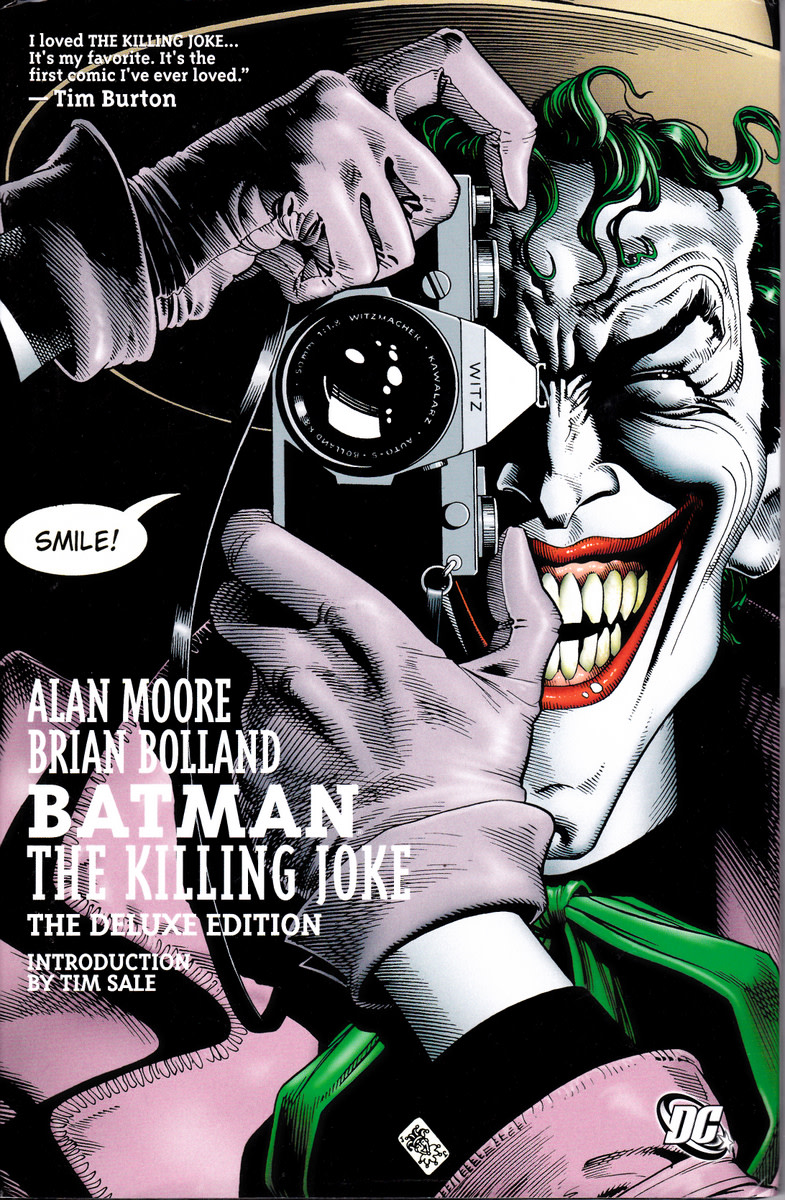 Graphic Novel Review - Batman: The Killing Joke (Deluxe Edition) by Alan Moore