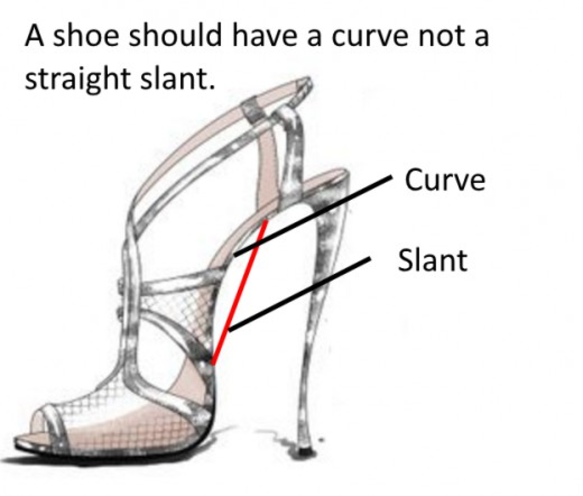 Some people have high arches. If they wear a shoe without support, it tends to be uncomfortable. By the same token, some people have flat feet or very little of an arch. The shoe should be shaped to the foot.