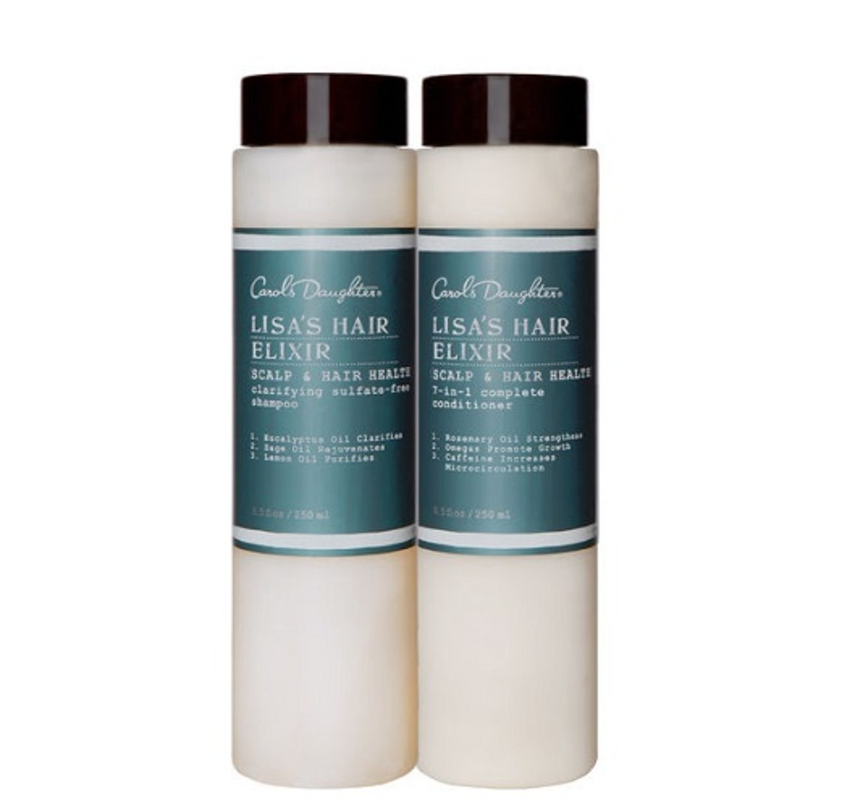 Carol's Daughter Lisa's Hair Elixir Clarifying Sulfate-Free Shampoo and Condtioner
