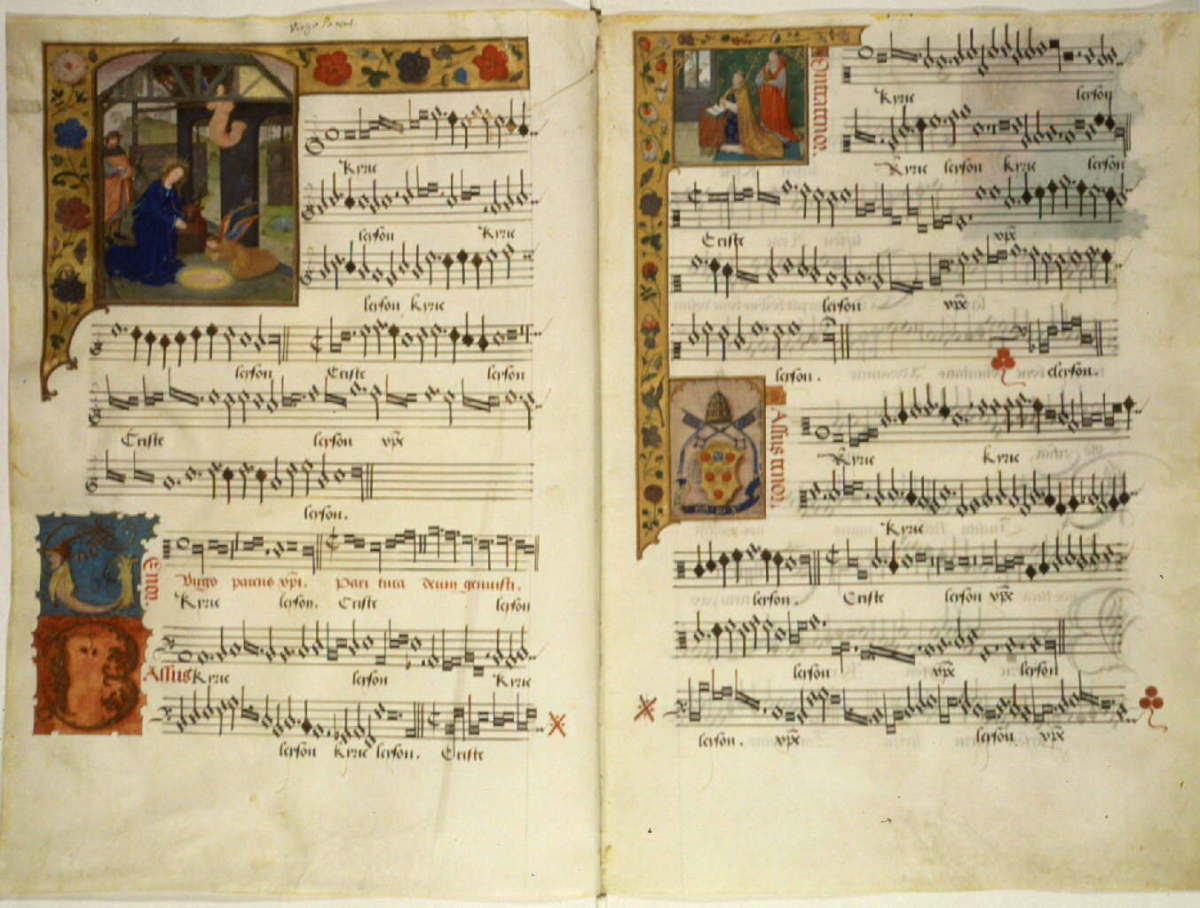 Fifth Century music composition, written by Pope Leo the tenth.