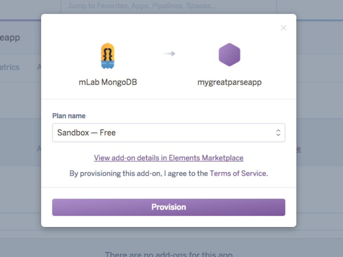 Install MongoDB in your Heroku app