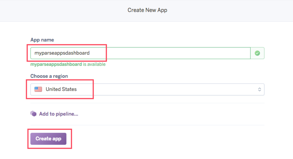 Create your Parse Dashboard app