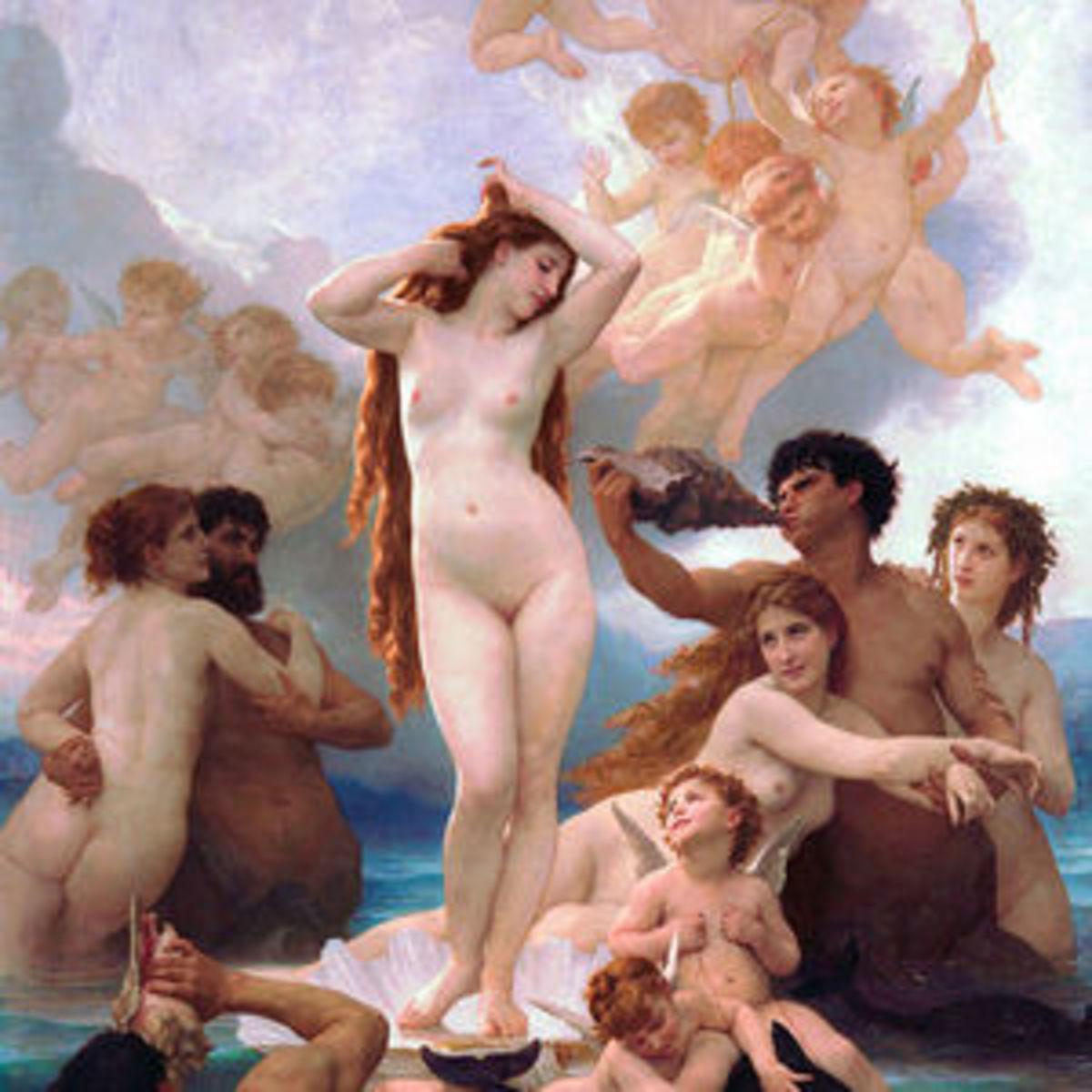 Venus the Roman Goddess of love and sex