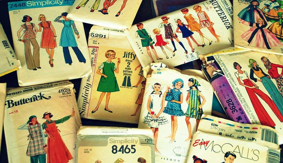 Mid 20th Century Sewing Patterns