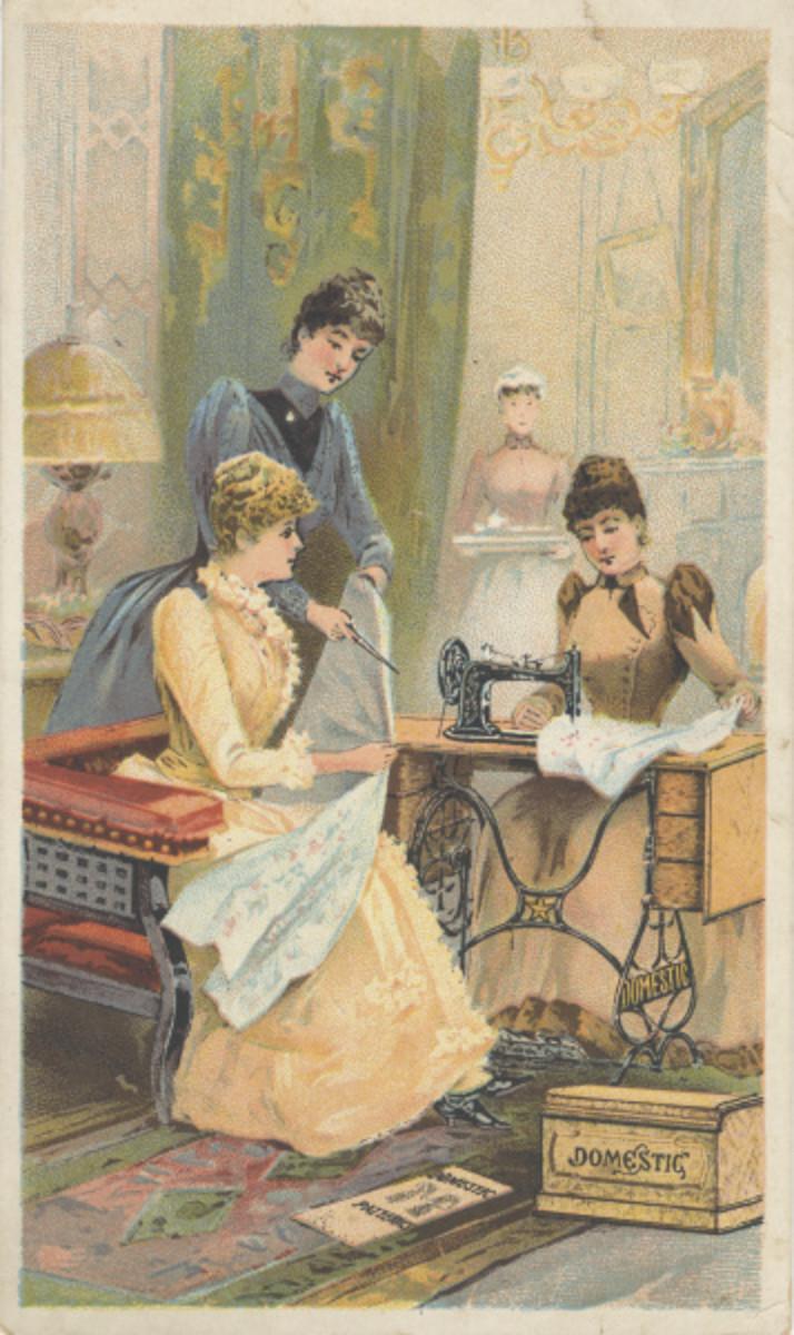 Home Sewing in 1900