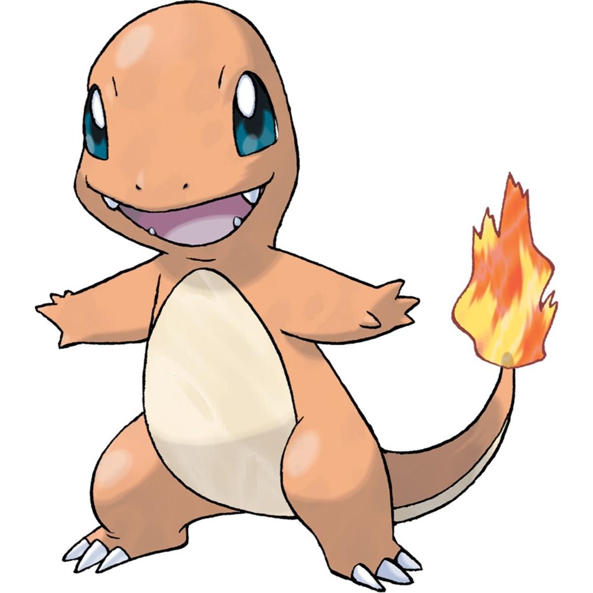Pokémon: Charmander Nicknames