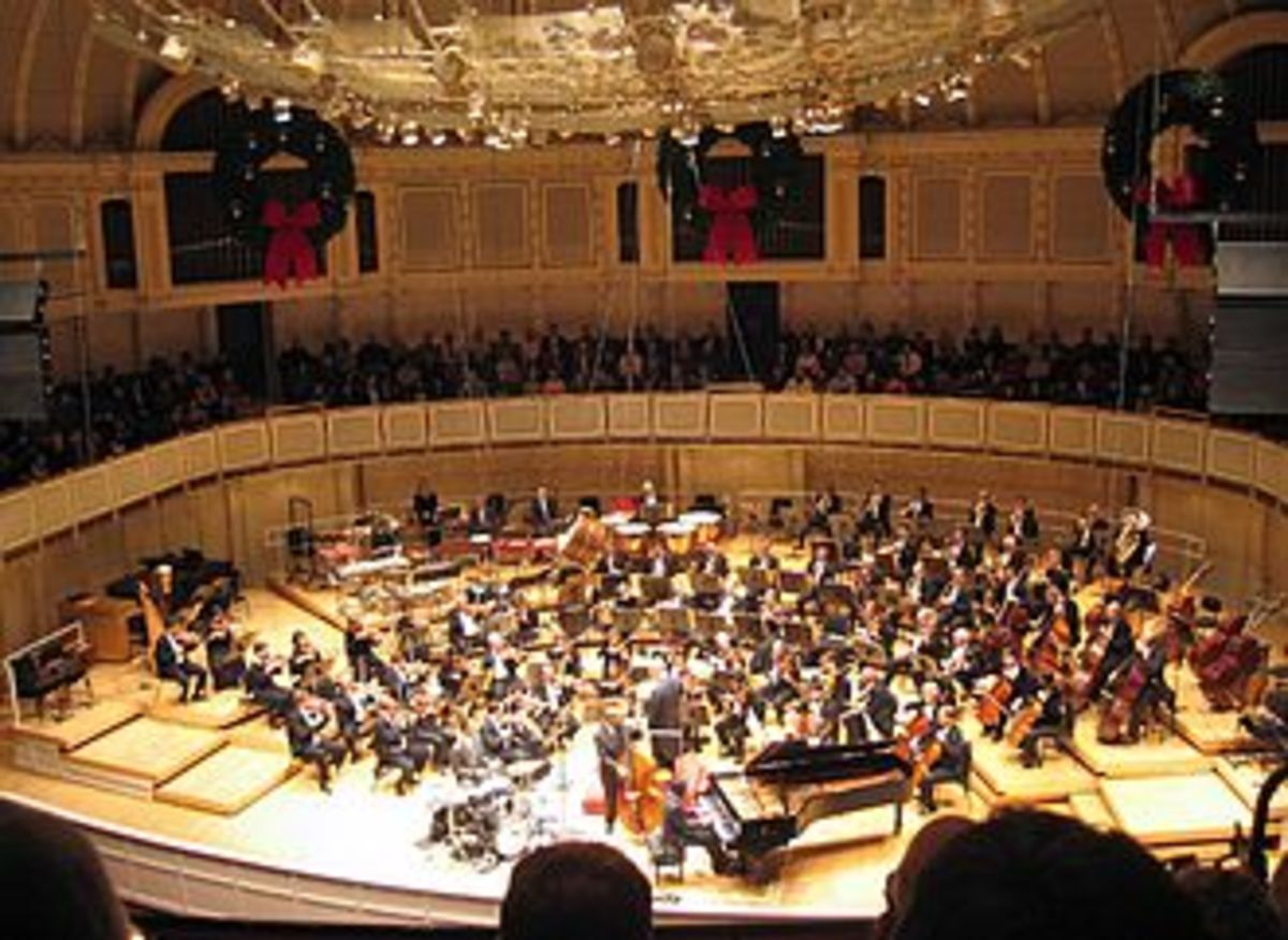 Chicago Symphony Orchestra - considered one of the best orchestra in the world.