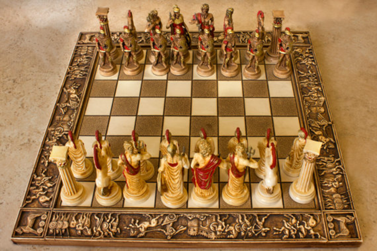 Chess, Rice and Knights
