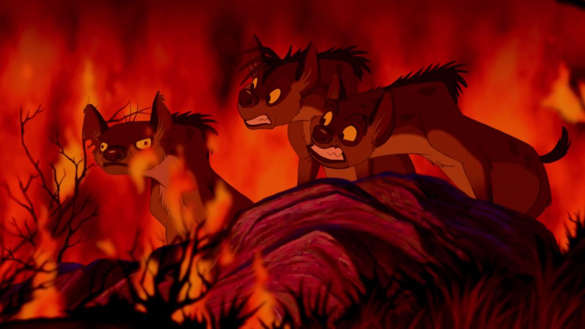 The hyenas thought they were on the right side by helping Scar. When they learn otherwise, they turn on him.