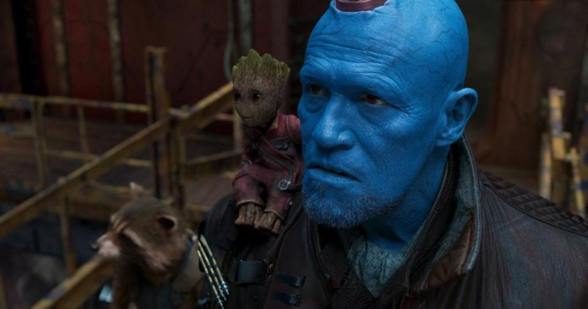"Yondu decides to save his ""son"" from his real father."