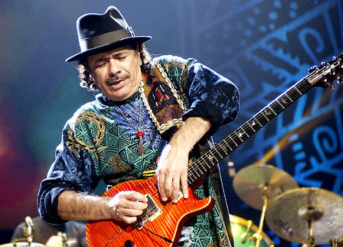 Carlos Santana confesses he used to channel Metatron while on drugs.