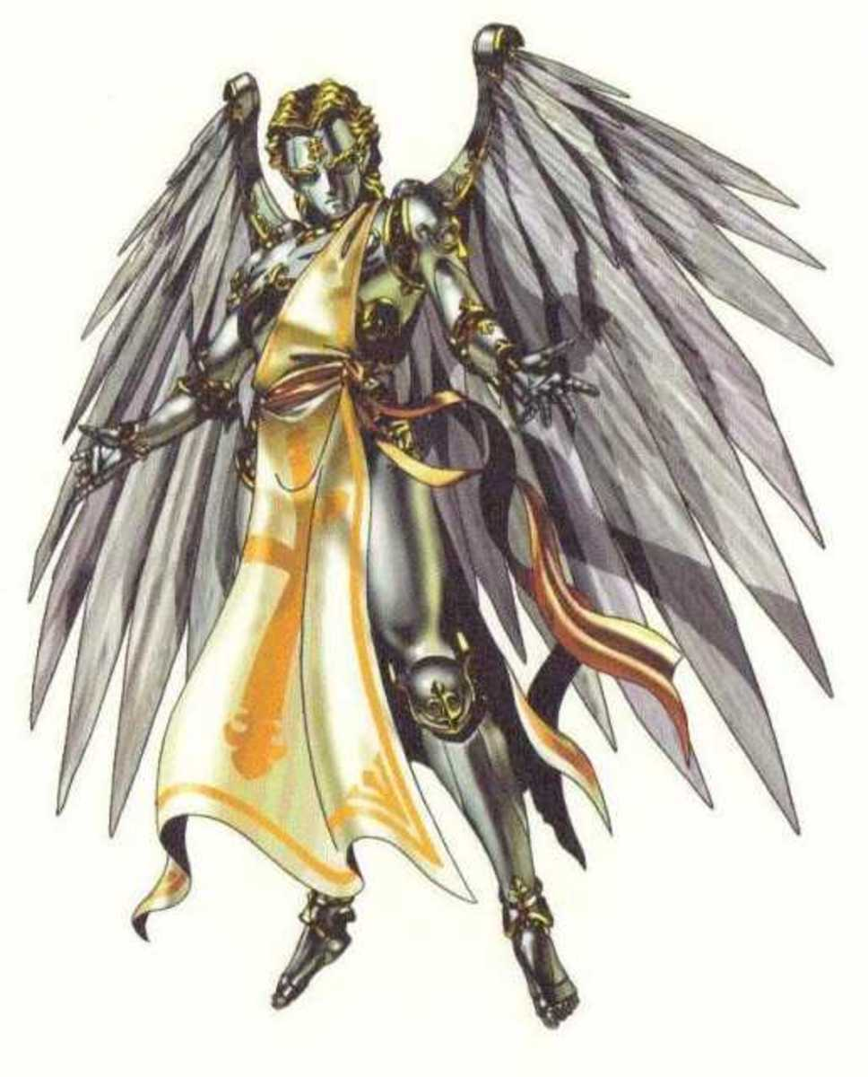 Metatron in Japanese video games and cartoons.