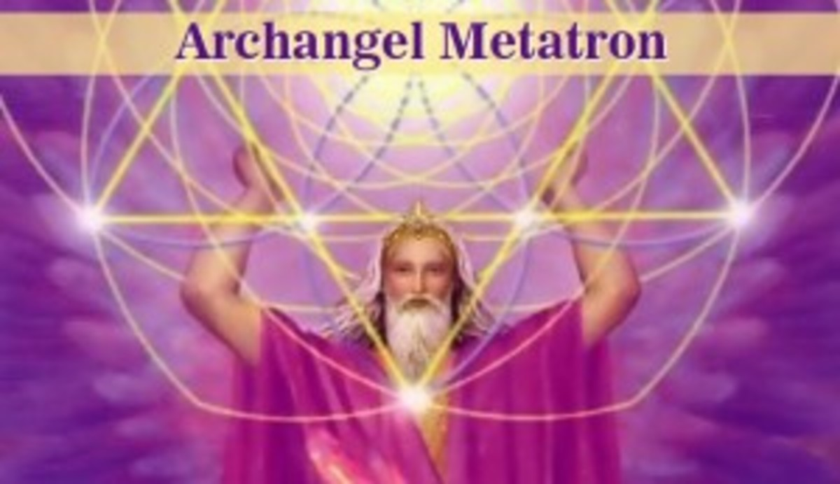 "The ""old"" version of Metatron.  After he has ascended into heaven, he is thought to be the transformed wise aged version of Enoch."
