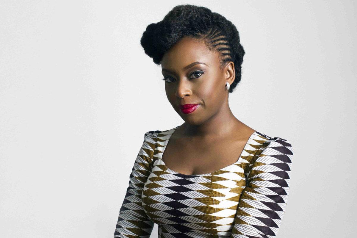 Feminist Chimamanda Ngozi Adichie.