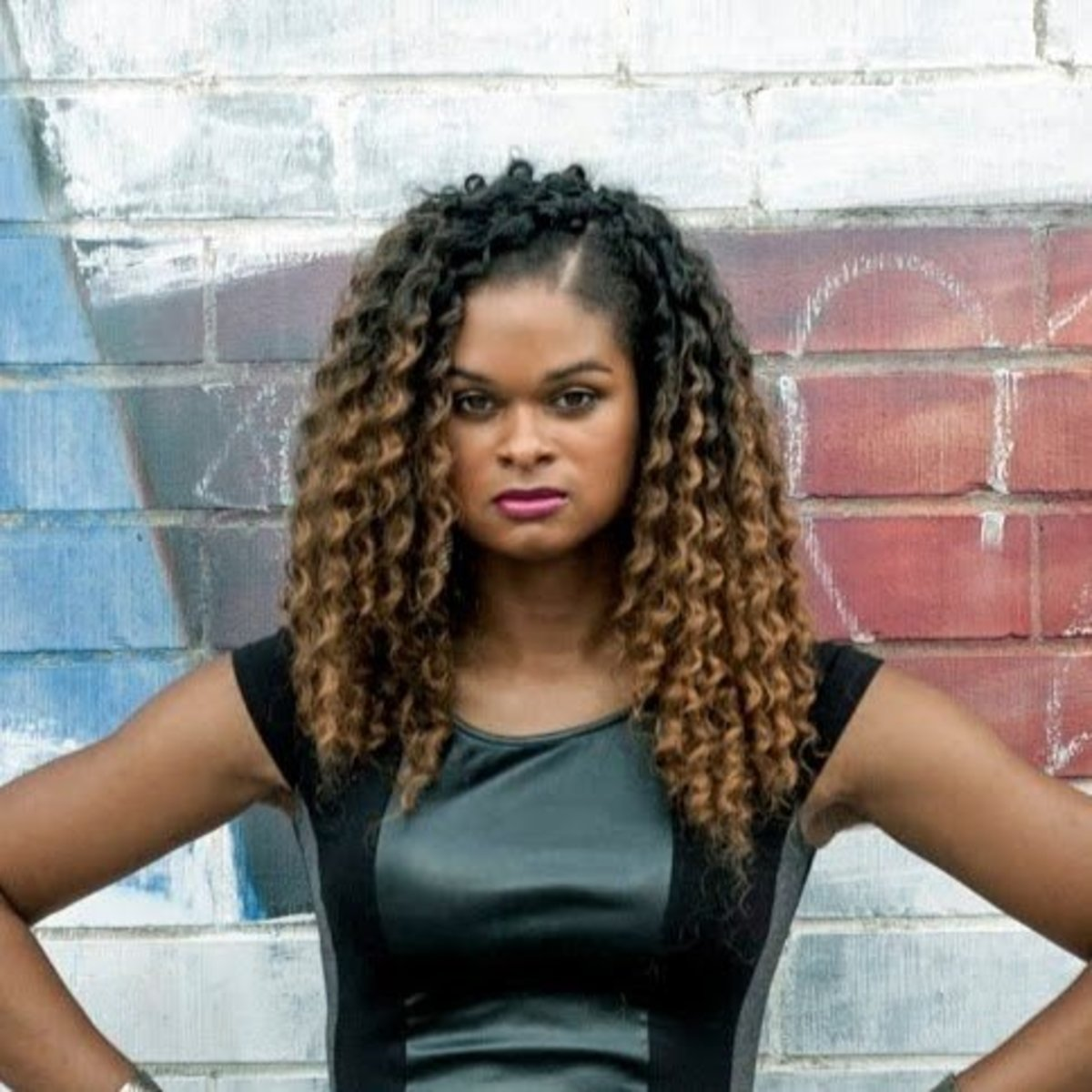 Trans woman Raquel Willis.