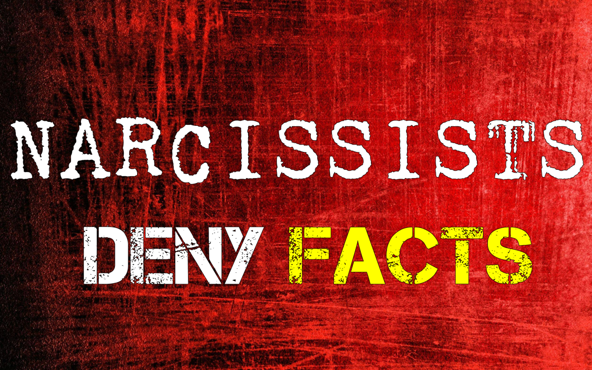 Narcissists Deny Facts