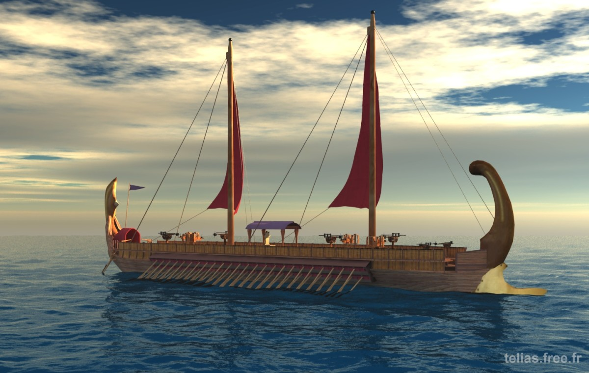 This artists depiction of an ancient Egyptian ship shows that a civilization that could build the Great Pyramid of Giza would have no trouble designing and building an Ocean going vessel.