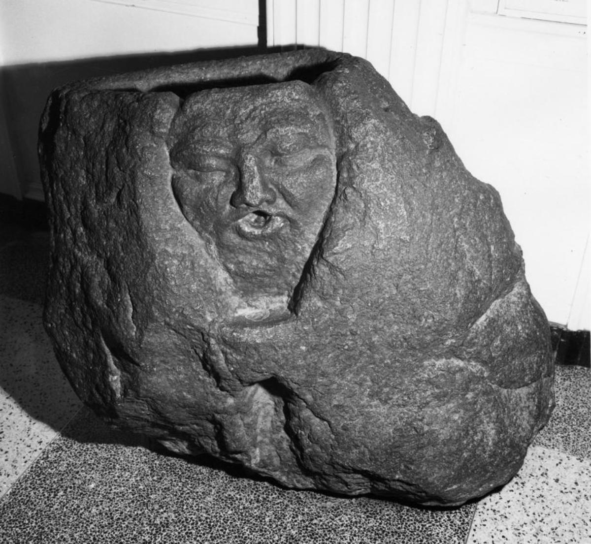 This ancient Phoenician stone found in Minnesota shows the hollow bassinet at the top used for infanticide ritual sacrifice.