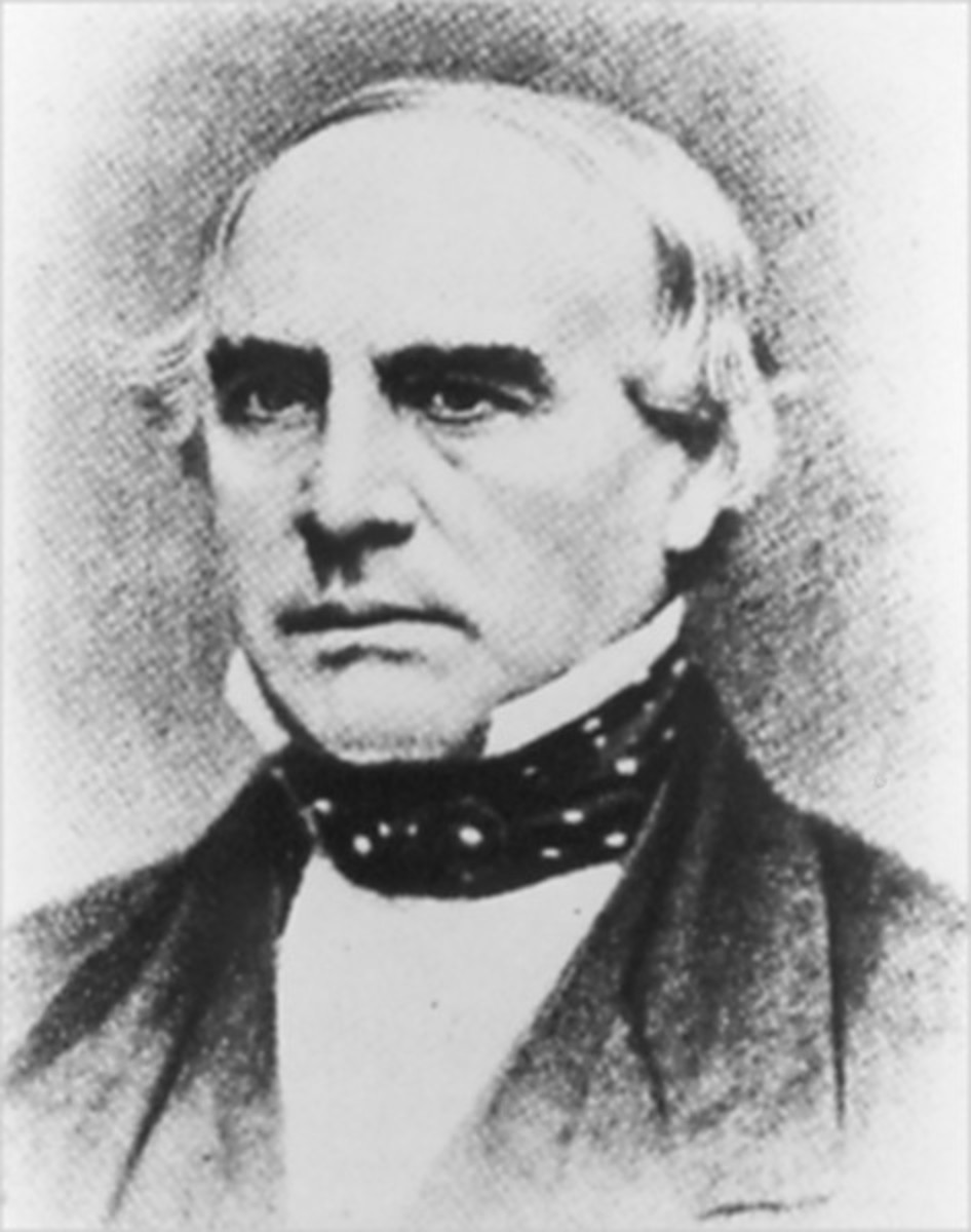 John Butterfield established a connection between the developed eastern U.S. and California