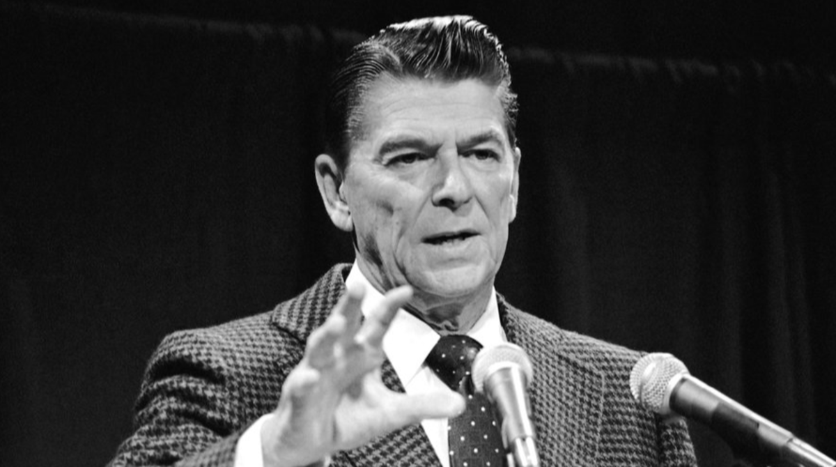 "Ronald Reagan aka ""The Great Communicator"""