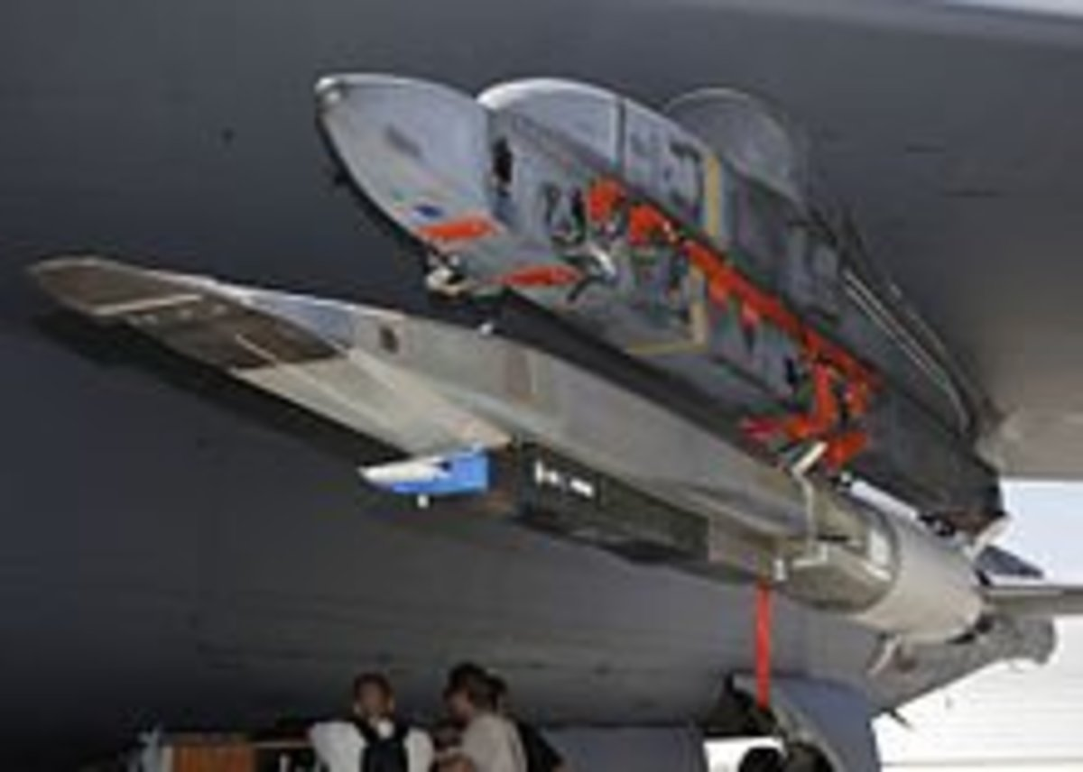 X-51 on a B-52 during testing in 2009